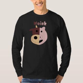 Cow + Pig = Moink mens organic tshirt