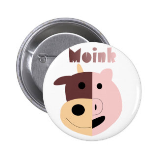 Cow + Pig = Moink pin