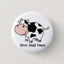 Cow Pinback Button