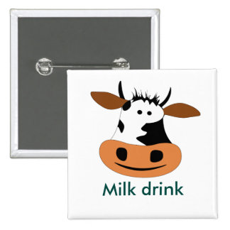 Cow Pinback Button