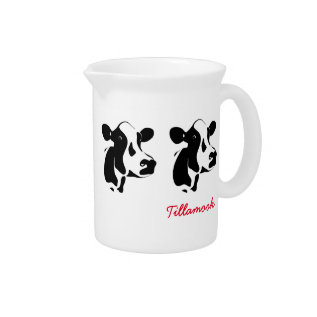 Cow Pitcher at Zazzle