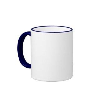 Cow Poke 2 Ringer Mug mug