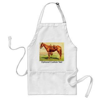 Cow Pony Adult Apron