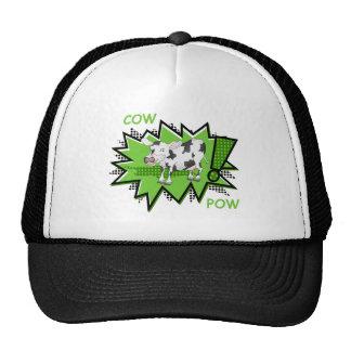Cow Pow starburst Trucker Hat