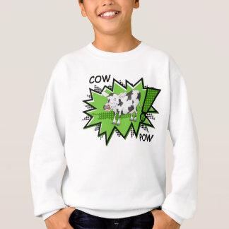 Cow Pow starburst Sweatshirt