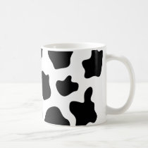 Cow print coffee mug | Personalizable
