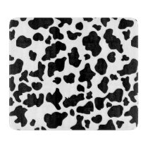 Cow Print Cutting Board