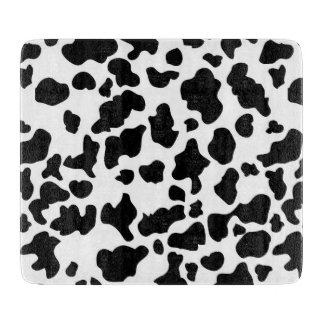 Cow Print Cutting Board