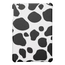 Cow Print iPad Case