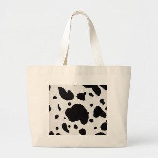 Cow Print Large Tote Bag