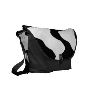 Cow Print Messenger Bag