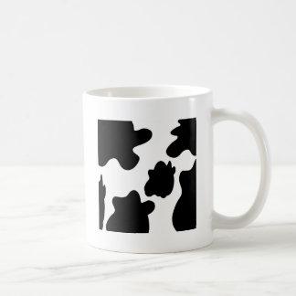 Cow Print Classic White Coffee Mug