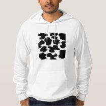 Cow Print Pattern Hoodie