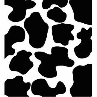 Cow Print Pattern Photo Cut Out