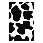 Cow Print Pattern Stationery