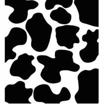 Cow Print Pattern Statuette