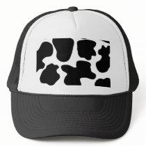 Cow Print Pattern Trucker Hat