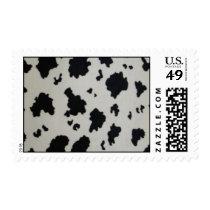 cow print postage