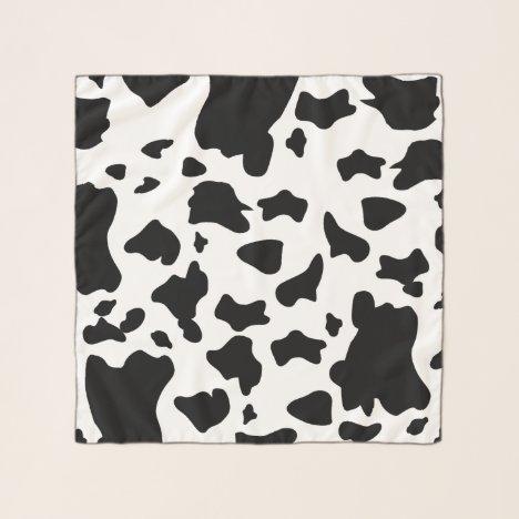 Cow Print Scarf