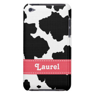 Cow Print Skin iPod Touch Case Mate Pink