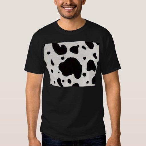 Cow print t shirt zazzle for Vista print tee shirt