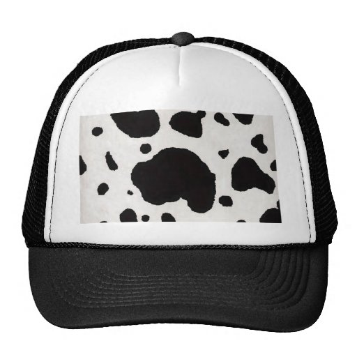 Accomplished image with printable cow hat