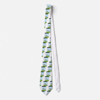 Cow Printer Tie