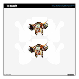 Cow PS3 Controller Decal