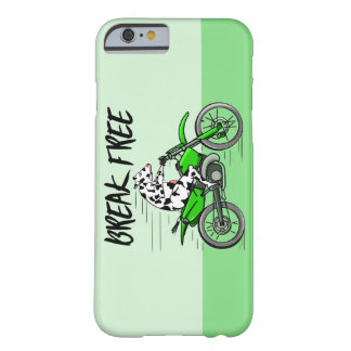 Cow Riding A Motorcyle Barely There iPhone 6 Case