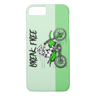 Cow Riding A Motorcyle iPhone 8/7 Case