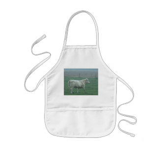 Cow Running Kids' Apron