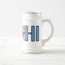 Cow Says Hi Beer Stein