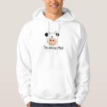 Cow Says Moo Hoodie