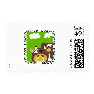 Cow Says Moo Tshirts and Gifts Postage