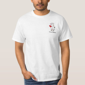 Cow Share White T Shirt
