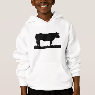 Cow Silhouette Hoodie