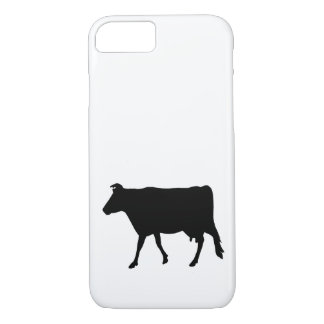 Cow Silhouette iPhone 8/7 Case
