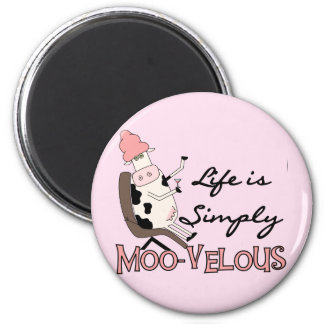 Cow Simply Moo-velous Tshirts and Gifts Magnet