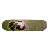 Cow skateboard