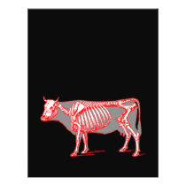 Cow skeleton flyer