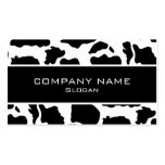 Cow skin Business Cards Standard Business Cards