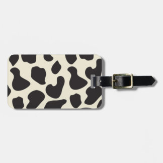 Cow Skin Cow Pattern Bag Tag