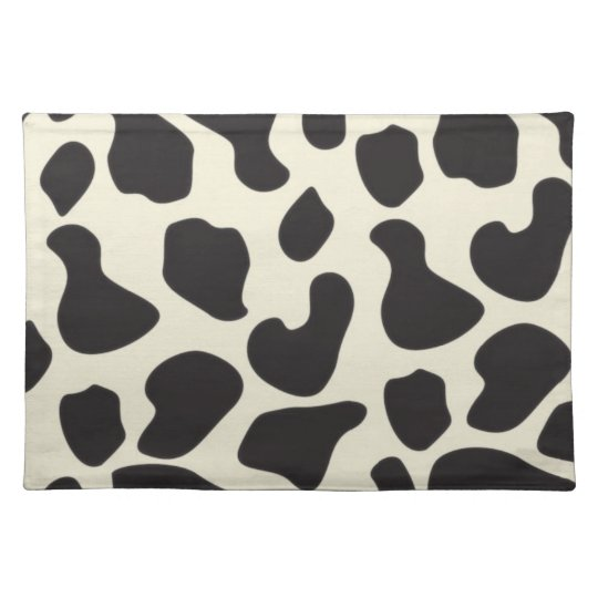 Cow Skin Cow Pattern Cloth Placemat