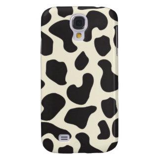 Cow Skin Cow Pattern Galaxy S4 Case