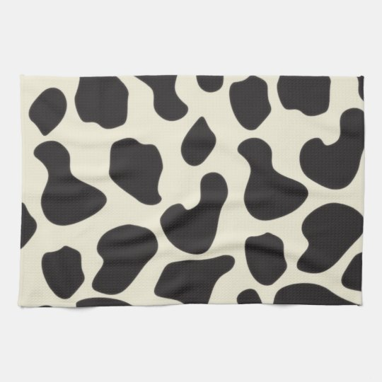 Cow Skin Cow Pattern Hand Towel