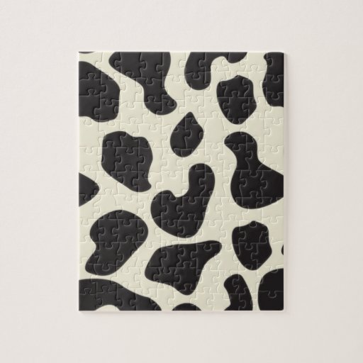 Cow Skin Cow Pattern Puzzle