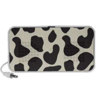Cow Skin Cow Pattern Portable Speakers