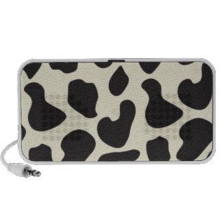 Cow Skin Cow Pattern Mp3 Speakers