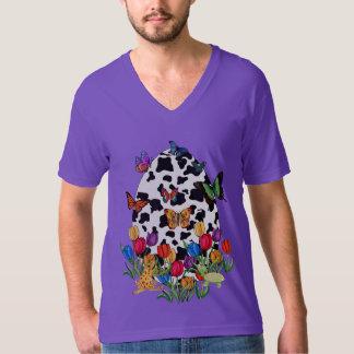 Cow Skin Easter Egg T-Shirt