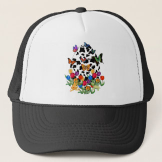 Cow Skin Easter Egg Trucker Hat